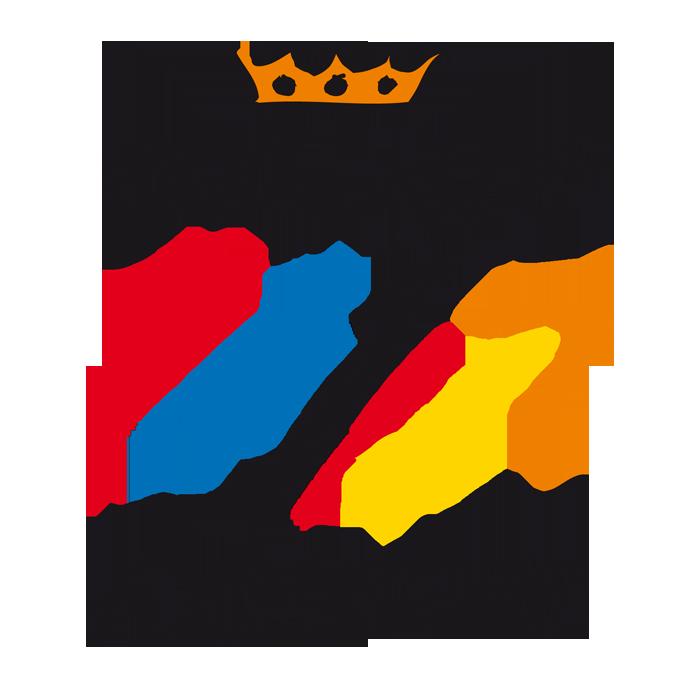 Logo der Oranier-Fahrradroute - Teil der Oranier-Themenroute Deutschland & Niederlande auf den Spuren des Königshauses Oranien-Nassau