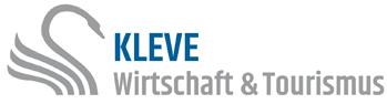 Logo der Herzog- und Kurstadt Kleve auf der Oranier-Fahrradroute von Lingen über Apeldoorn nach Moers