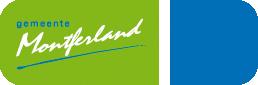 Logo der Gemeinde Montferland auf der Oranier-Fahrradroute